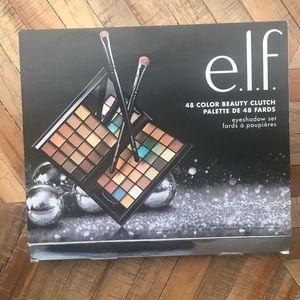✨e.l.f. 48 color beauty clutch book eye shadow set